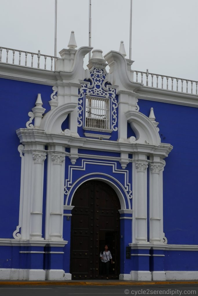 Trujillo - bleu colonial